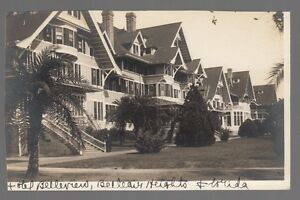60195-OLD-REAL-PHOTO-POSTCARD-HOTEL-BELLEVIEW-BELLEVIEW-HEIGHTS-FLORIDA