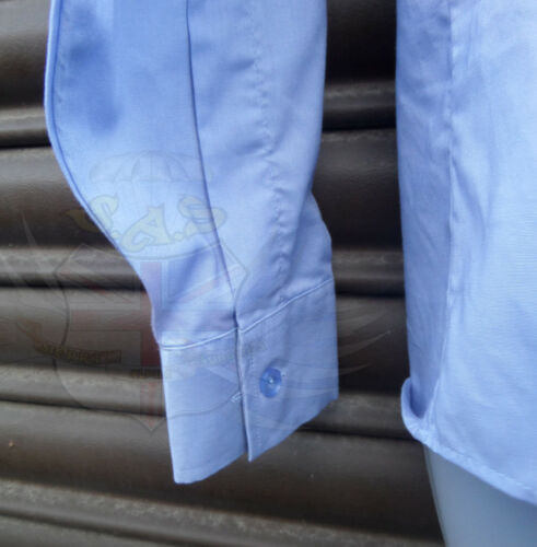 Details about  /ROYAL AIR FORCE LADIES RAF ISSUE BLUE POLYCOTTON WOMEN/'S LONG SLEEVED SHIRT,UK