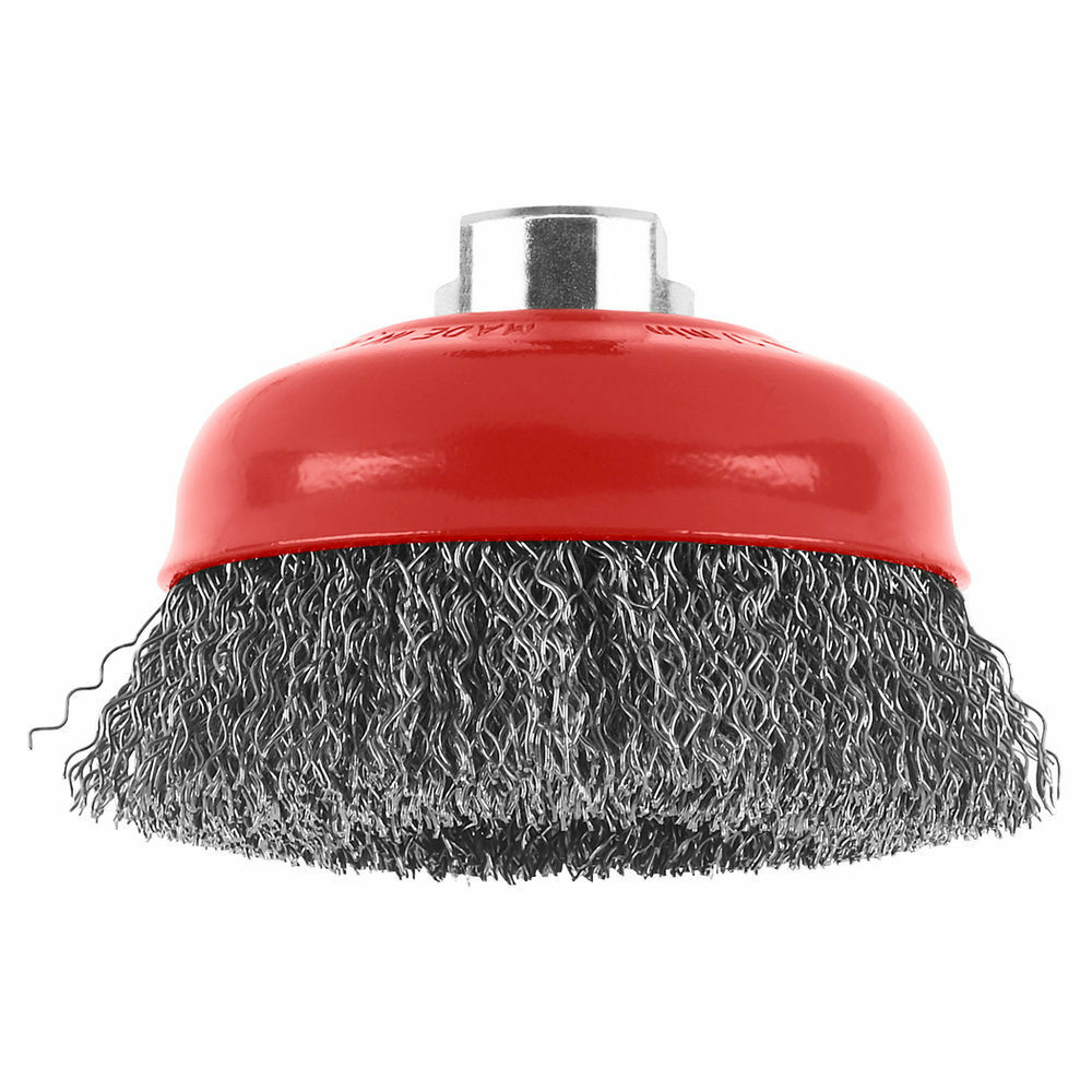 Bosch Crimped Wire Cup Brush 100mm M14 Red