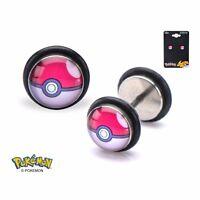 Pokemon Pokeball Offically Licensed 18g Faux Plug