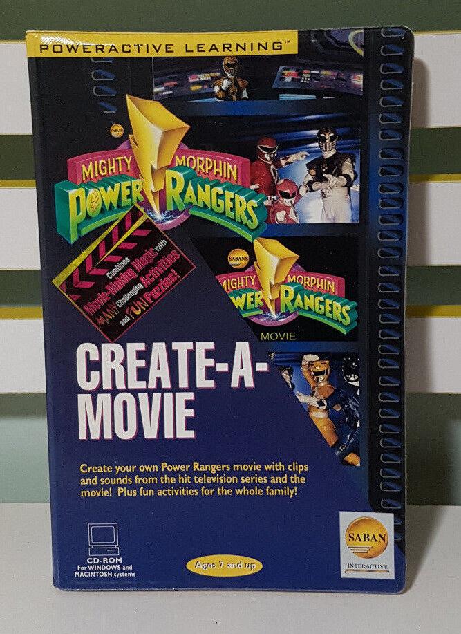 Miighty Morghin Power Rangers skapar en film CD-ROM-skivornas  Family barn  match