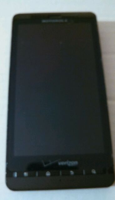 * MOTOROLA DROID X2 FOR PARTS OR REPAIR Bad ESN - 8GB - Black (Verizon)