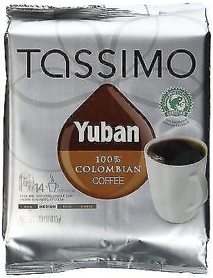 Tassimo T Discs Yuban 100 Colombian Coffee 14 Count For