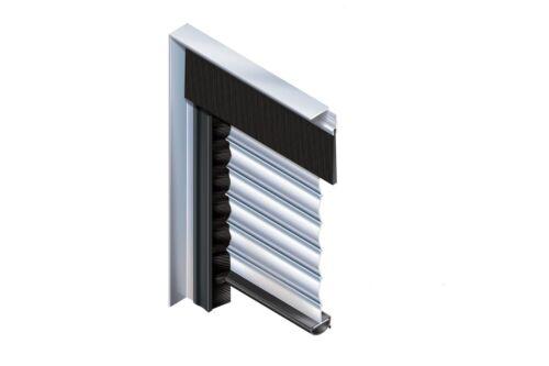 Draught Excluder Garage 1 metre length Roller Shutter Door Top Brush Strip