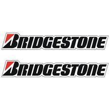 2 Stickers plastifiés BRIDGESTONE - 32cm x 5cm