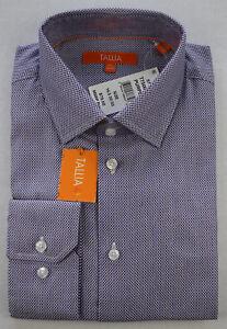 Tallia-Mens-Fitted-Purple-Dobby-Print-Button-Dress-Shirt-15-32-33-16-5-32-33