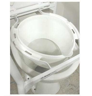 Splash Guard for Folding Over Toilet Aid - Elderly ...