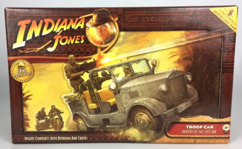 mint sealed new hasbro Indiana jones raiders of the lost ark troupe voiture
