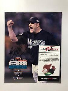 Florida-Marlins-2003-World-Series-Brad-Penny-Signed-8x10-Photo-LOJO