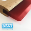 FREE DELIVERY Red 65 shore blade A4 Best Screen Print Squeegee 24cm 9.5 inch