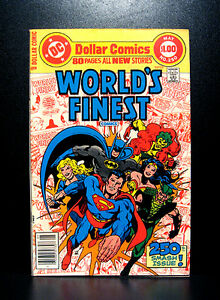 COMICS-DC-World-039-s-Finest-250-1978-1st-Agent-Axis-II-app-80-pages-flash