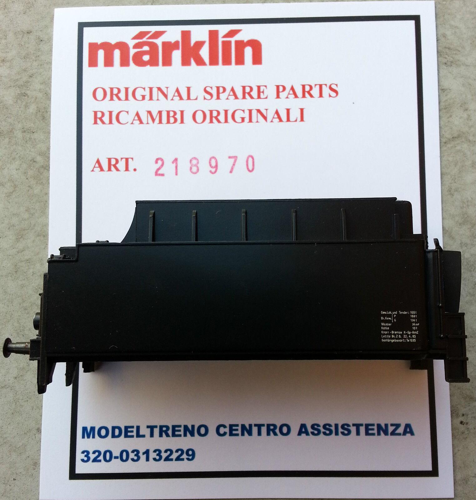 MARKLIN  21897 - 218970    MANTELLO TENDER - TENDER-AUFBAU 3047