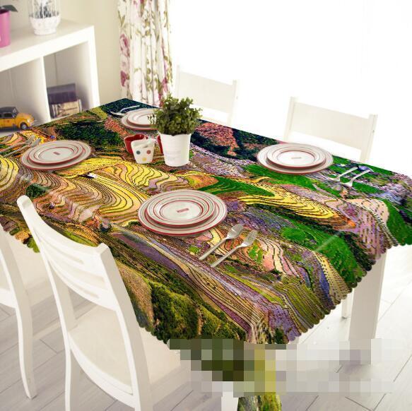 3D Cute Farm 5 Tablecloth Table Cover Cloth Birthday Party Event AJ WALLPAPER AU