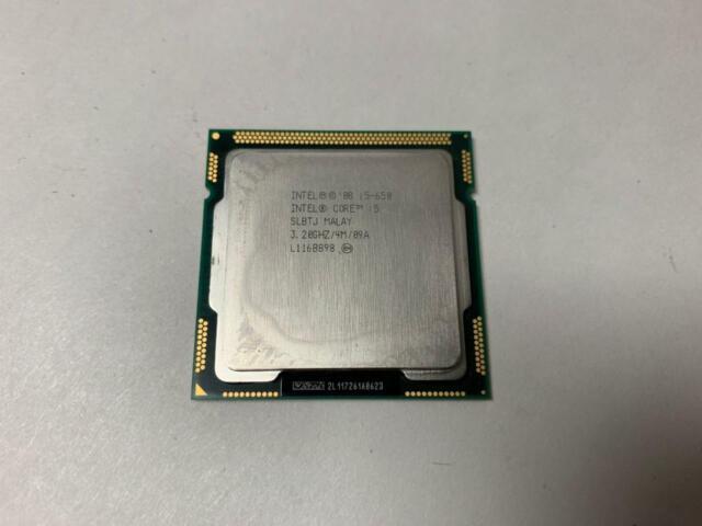 LOT OF 16 X INTEL CORE I5-650 3.20GHZ  SLBLK SLBTJ LGA1156 CPU PROCESSOR