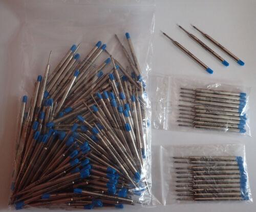 Schwarz Sparpakete! Faber Castell Kugelschreibermine Großraummine Blau