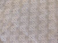 Beautiful White Lace Floral Net Design Fabric 54 Wide By The Yard