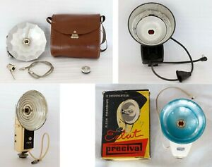 4 Flash Vintage Lumiere Agfa Fex Precival