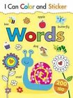 I Can Color and Sticker: Words by Gemma Cooper (Paperback / softback, 2015)
