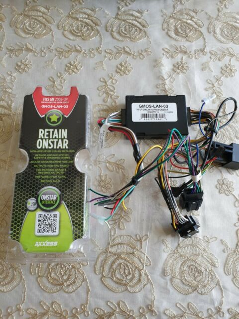 GMOS-LAN-03 METRA AXXESS / 2006 - 2012 UP GM DATA RADIO INTERFACE HARNESS