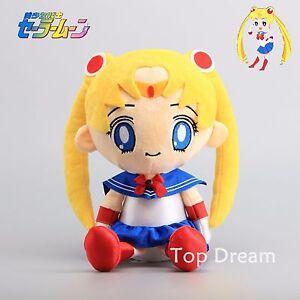 Anime-Sailor-Moon-Tsukino-Plush-Toy-Soft-Stuffed-Doll-Figure-12-039-039-Gift