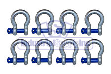Anchor Shackle Clevis Alloy Screw Pin 716 8 Pack Industrial Supply
