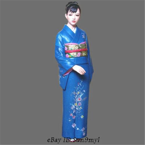 1//24 Japanes Girl Kimono Resin Kits Unpainted Figure Statue GK Unassembled