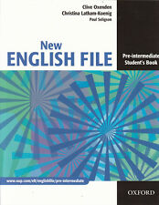 Oxford NEW ENGLISH FILE Pre-Intermediate Student's Book @NEW@ 9780194384339