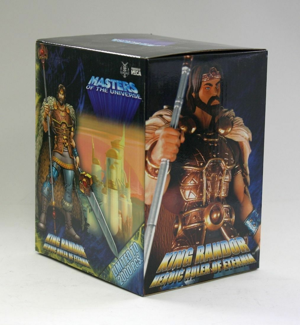 Masters of the Universe King Randor Con Exklusiv konstIST PROOF Neca