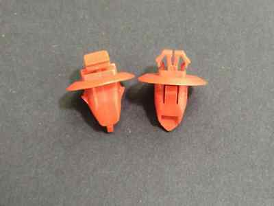 Red Nylon Fender Molding Clips For Toyota 90904-67037 Free Ship Set of 20