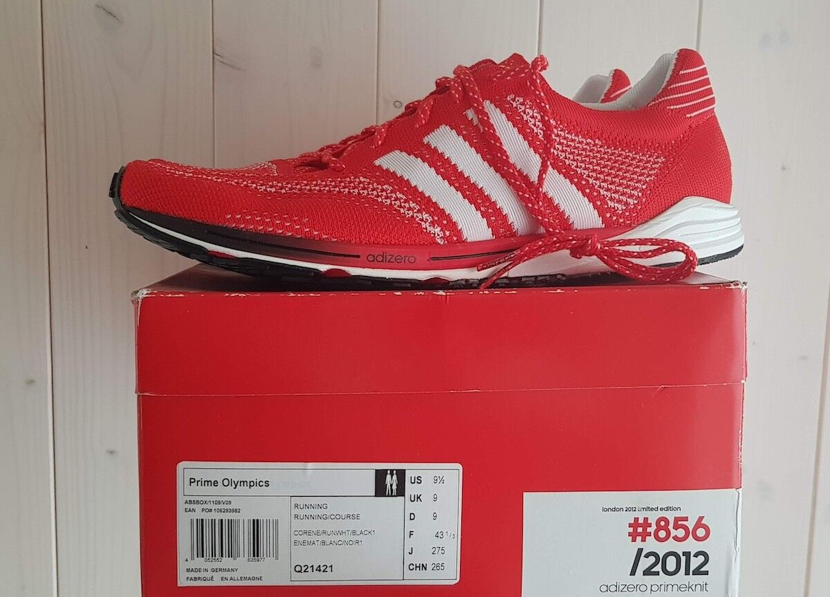 ADIDAS AdiZero Prime London 2012 Olympics Team GB no. 0856/2012 Trainers uk9 RARE