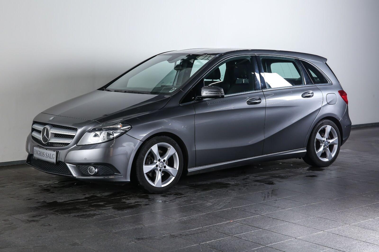 Mercedes-Benz B200 1,8 CDi aut. BE Van