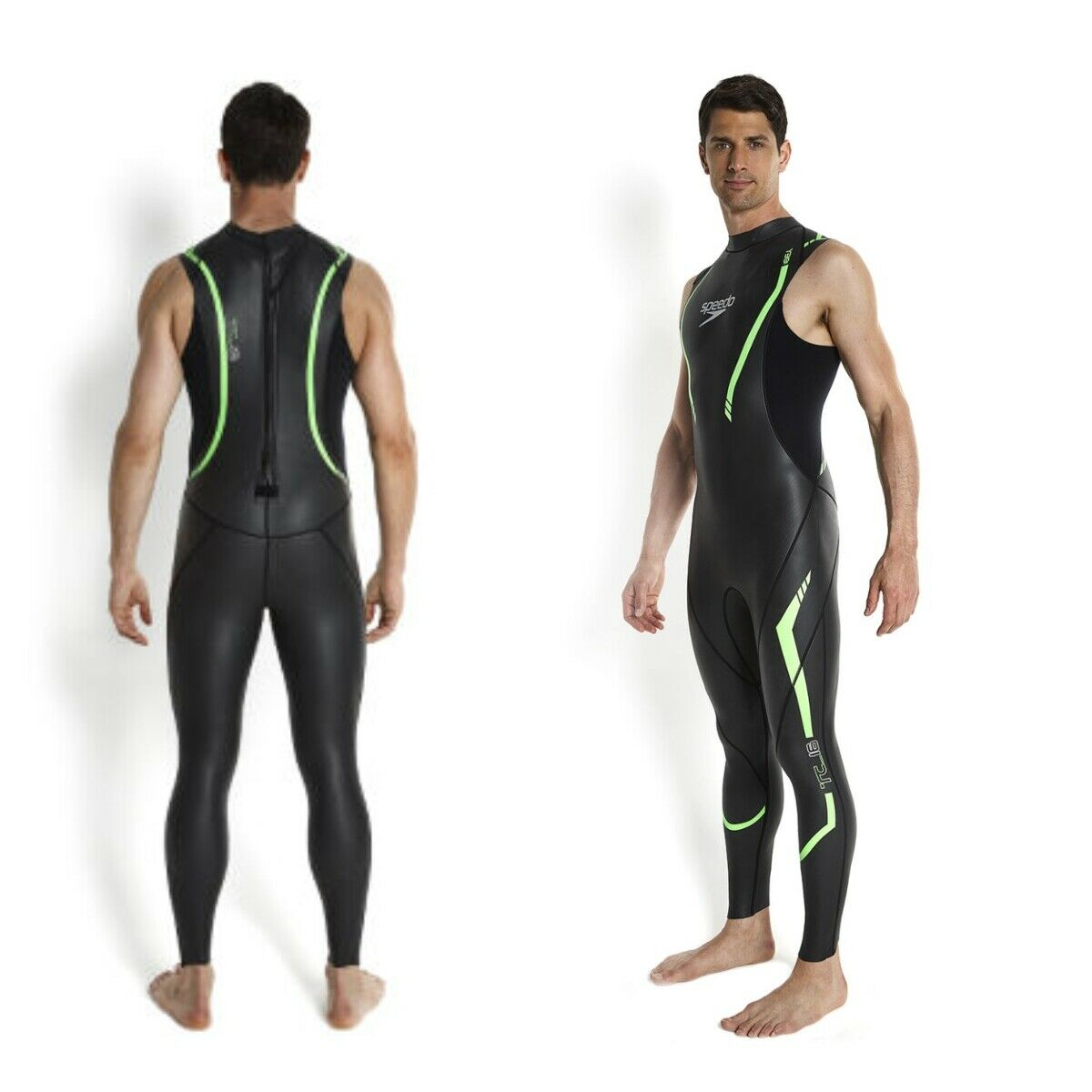 Speedo Para hombre para Triatlón tri Comp Traje Completo Traje De Baño Natación Traje de Baño Nuevo