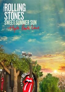 The-Rolling-Stones-SWEET-Summer-Sun-Hyde-Park-Live-T-shirt-EDITION-DVD-NUOVO