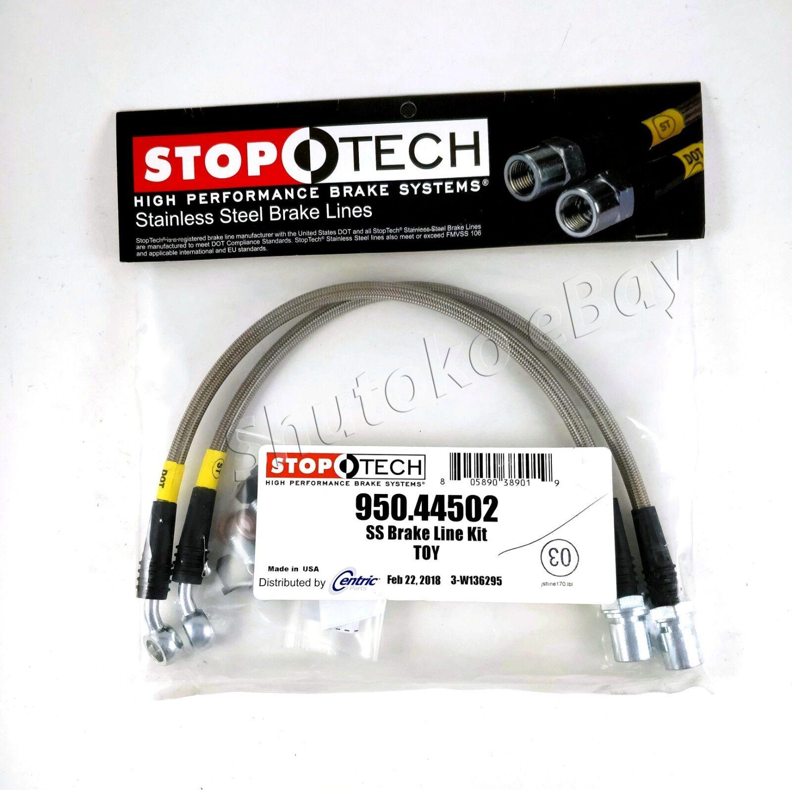 950.35001 StopTech Stainless Steel Brake Line Kit