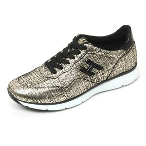 Details about B9368 sneaker donna HOGAN H254 TRADITIONAL 20 15 scarpa nero/oro shoe woman