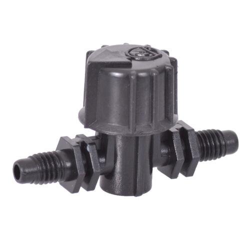 4 mm Micro Irrigation Filetage In-Line Valve//Robinet HOZELOCK Compatible Hydroponics