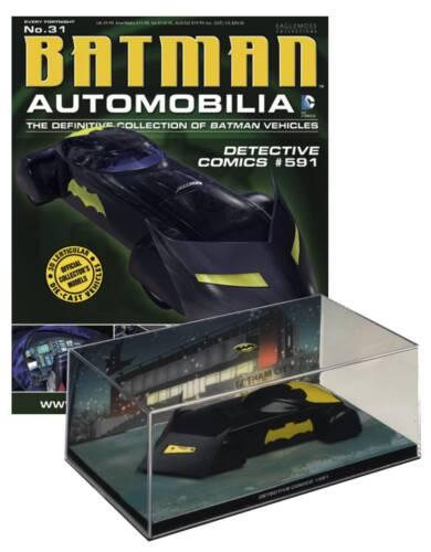 1//43 Scale Vehicle /& Magazine Detective Comics #591 Batmobile #31