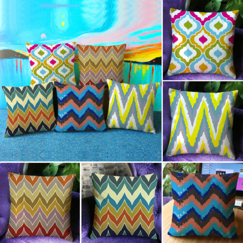 """Geometric Abstract Home Decoration Throw Pillow Case Sofa Cushion Cover 18/""""x18/"""""""