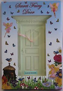 NEW GLOW IN THE DARK SECRET FAIRY DOOR - FV110 KIDS BEDROOM TOOTH ...