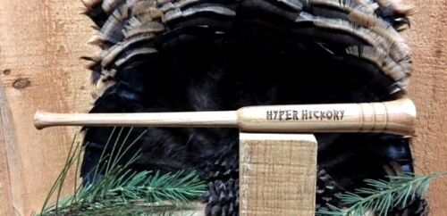 HYPER HICKORY  Custom Laminated Hickory Flared Friction Turkey Call Striker