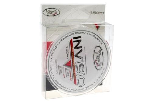 Angelschnur YORK INVISIO 150m 0,14-0,40mm Monofile Fluorocarbon beschichtet