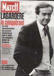 Affiche 60x80 Paris Match 2809 . Jean Luc Lagardere . | eBay