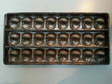 Escargots Snails flat Chocolate mold mould Bonbons Antique Vintage