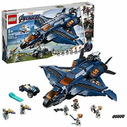 Lego (Lego) Superhelden The Avengers Ultimate Quinn Jet 76126 Block Spielzeug