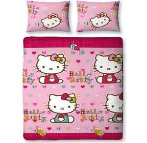 Double Bed Hello Kitty Covers