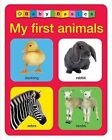 Baby Basics: My First Animals by Roger Priddy (Board book, 2013)