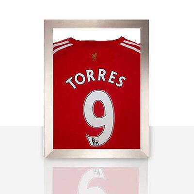 Frame For Any Signed Football Shirt Silver Frame *eBays No1*
