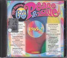 CD 170 RED RONNIE PRESENTA PEACE E LOVE IL MEGLIO DEGLI ANNI 60  1965 VOL 2