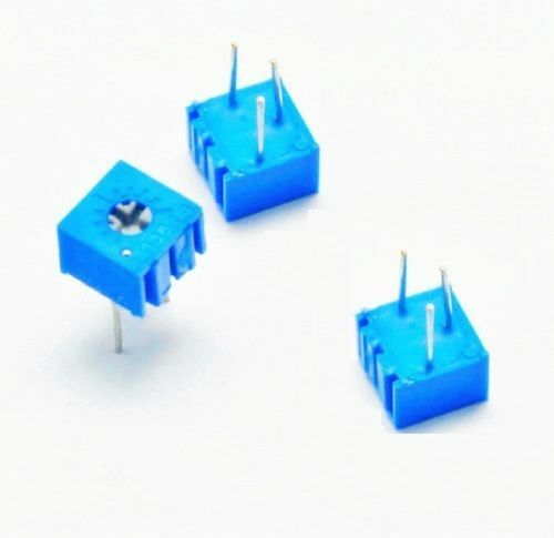 5 Pcs 3362P-103 3362 P 10K ohm High Precision Variable Resistor Potentiometer