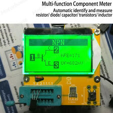 All In 1 Component Tester Transistor Diode Capacitance Esr Lcd Meter Inductance